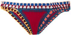 Soley Classic Bikini Bottom by KIINI Now Available on Moda Operandi Luxury Swimwear, Bikini Swimwear, Swimsuits, Bikinis, Red Bikini Bottoms, Bikini Tops, Boho Swim Suits, Bathing Suits, Bohemian Bikini