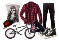 This is what men wear when doing bmx!?!?!?!?