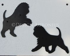 Affenpinscher, small silhouette via Design Agronius. Click on the image to see more!