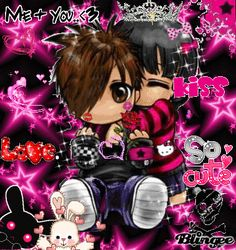 Aesthetic, Nostalgia, Webcore, Old Web, Scene Scene Kids, Emo Scene, Princesa Emo, Emo Princess, Rawr Xd, Goth Aesthetic, Cybergoth, Creepy Cute, Yandere