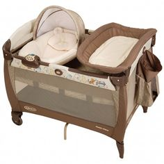 Pooh Pack 'n Play® Playard. This Graco Classic Pooh play yard is great for your newborn when you're on the go!