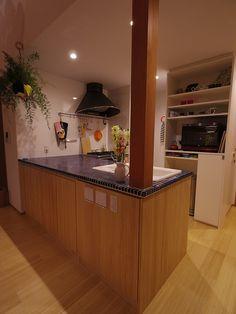 Web内覧会(入居後)キッチン : おうちを創る Liquor Cabinet, Storage, Kitchen, House, Furniture, Home Decor, Kitchens, Purse Storage, Cooking