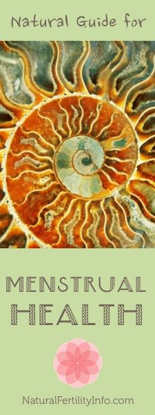 Natural Guide for Menstrual Health.