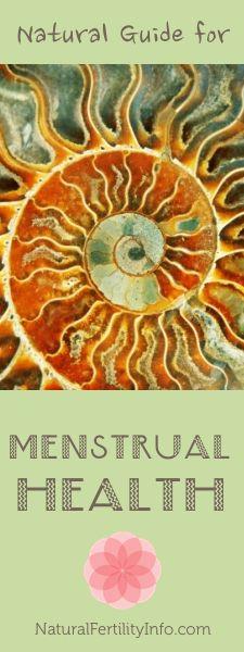 Natural Guide for Menstrual Health.