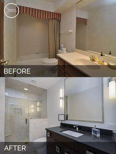 Before and After Bathroom Remodeling - Sebring Services
