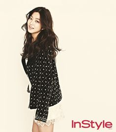 Park Se Young in InStyle Korea February 2013