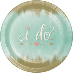 """Mint To Be 10 1/4"""" Round Paper Banquet Plates/Case of 96 Tags: Mint To Be; Banquet Plates; Wedding; wedding party ideas;wedding party decorations;wedding party Banquet Plates;;; https://www.ktsupply.com/products/32786351496/Mint-To-Be-10-14doublequote-Round-Paper-Banquet-PlatesCase-of-96.html"""