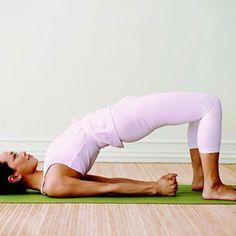 Bridge Pose - Fitnessmagazine.com