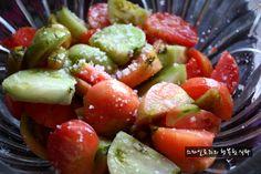 텃밭 떨어진 토마토로 토마토김치 담았어요~~~ – 레시피 | Daum 요리