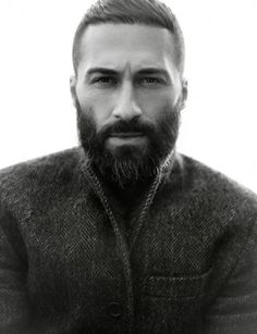 I like your jacket. Oh and your beard as well.