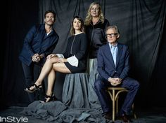 "In Style Magazine TIFF Portrait :; Cast of ""Their Finest"""