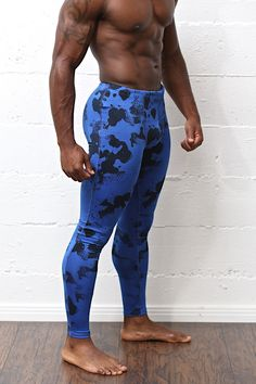Xplosive D9 compression pants, blue