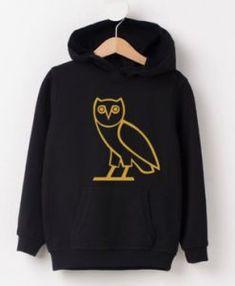 e723dc5fa57385 Unisex OVO Drake CREWNECK gold owl ovoxo Octobers very own weekend ...