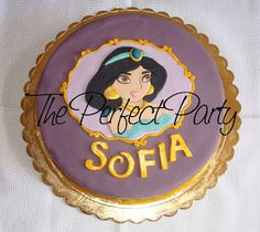 The Perfect Party: Torta Principessa Jasmine