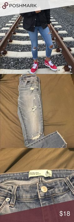 Abercrombie ankle jeans great condition W 27 , L 26 Abercrombie & Fitch Jeans Ankle & Cropped