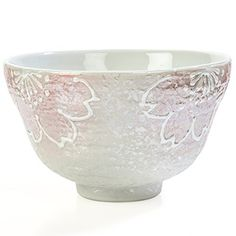 Japanese matcha is a unique Japanese green tea that has been stone ground into a very fine powder and must be whisked (not steeped) in water before consuming. A beautiful Japanese Matcha Bowl is essential for enjoying matcha in the Japanese tea ceremony. It helps you to have a unique experience... see more details at https://bestselleroutlets.com/home-kitchen/kitchen-dining/coffee-tea-espresso/coffee-tea/product-review-for-tealyra-matcha-sakura-chawan-authentic-handmade-earth