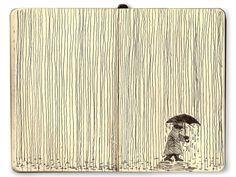 100+ Beautiful Moleskine Sketchbook Sketches