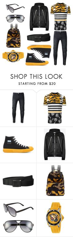 """""""jeans forever #69"""" by ferendel76 ❤ liked on Polyvore featuring Dolce&Gabbana, Prada, Maison Margiela, NIKE, Valentino, Gucci, men's fashion and menswear"""
