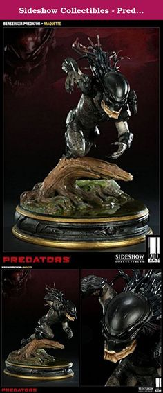 Sideshow Collectibles - Predators statuette The Berserker 40 cm. Sideshow is proud to partner with KNB EFX GROUP to bring you the Predators Collectible line from the 2010 film release. Each piece is individually painted and finished, each with its own unique quality and detail that is the trademark of a handcrafted Sideshow Collectibles product. Presenting a 1:5 scale full-figure study of the newly developed Predator creature designs for the film by KNB, the Berserker Predator Maquette is…