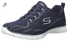 Skechers Sport Women's Ez Flex 3.0 Estrella Fashion Sneaker, Navy, 9.5 M US - Skechers sneakers for women (*Amazon Partner-Link)
