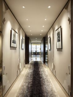 Candy & Candy: Hallway One Hyde Park Hotel Hallway, Hotel Corridor, One Hyde Park, Interior Architecture, Interior Design, Hotel Interiors, Patterned Carpet, Hotel Lobby, Living Room Carpet