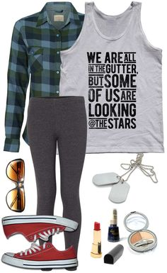 Few people understood the nature of celebrity quite as well as Irish playwright, novelist, essayist, and social commenter Oscar Wilde did. Pair this cool typographic quote tank top with tights & a comfy flannel, and accessorize with shades, dog tags, and Converse for a fashionable soft goth grunge look that will turn heads! Assorted colors; printed on soft 100% combed, ringspun cotton with eco-friendly water-based inks. $25.00 from #Boredwalk, plus free U.S. shipping. Click to purchase!