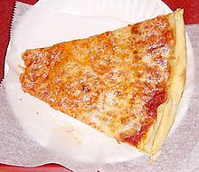 """NY Pizza found only in NYC and Long Island. Has to be """"foldable"""" and no other cheese but mozzeralla."""