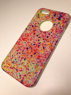-abstract painting-  DIY your iphone case