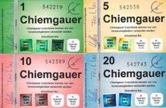 Chiemgauer, a regiogeld from Bavaria, Germany