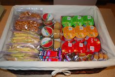 Sisters, Sisters: School Lunches - The Snack Basket