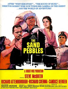 The Sand Pebbles Illustrated by Mitchell Hooks 1966  * Courtesy of Crispin Garcia