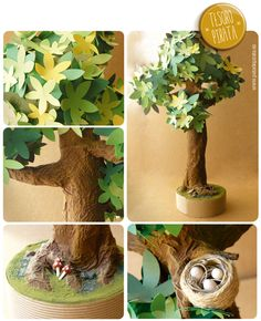 1000 images about manualidades ni os on pinterest - Arbol de papel manualidades ...