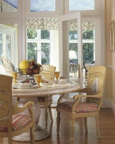 View To The Dining Room Continuous Hardwood Flooring Brings A Cohesive Look This Home
