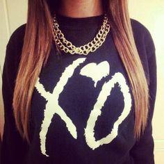 XO the weeknd sweater