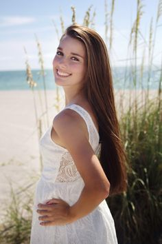 Senior Pictures On the Beach – Tampa Senior Photographer