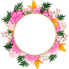 "Photo from album ""Рамочки. Frame Floral, Flower Frame, My Flower, Flowers, Flower Backgrounds, Wallpaper Backgrounds, Iphone Wallpaper, Cute Frames, Text Background"