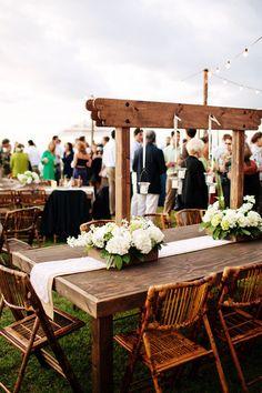 Backyard Maui Wedding by Bradley & Lily Fine Stationery Fine Stationery, Maui Weddings, Wedding Table, Wedding Ideas, Pergola, Dining Table, Lily, Backyard, Table Decorations