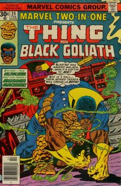 Was never a huge fan of Ben Grimm — but I was a huge fan of the weeks he got stuck hanging around with Marvel's '70s also-rans.