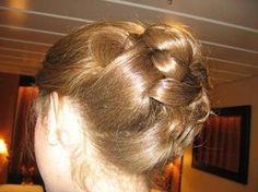 long hair upstyles - Google Search