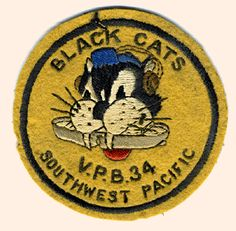 "USN VPB-34 SOUTHWEST PACIFIC ""BLACK CATS"""