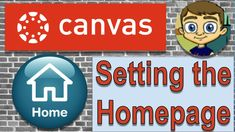 Learn how to setup your course homepage in the Canvas LMS. In a previous video I showed how to create a Canvas LMS course using modules, but in this short tu. Classroom Tools, Online Classroom, High School Classroom, Flipped Classroom, Google Classroom, Canvas Learning Management System, Canvas Instructure, Canvas Online, Blended Learning