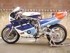 1989 Suzuki GSXR 750 RR Suzuki Gsx R1000, Suzuki Motos, Suzuki Bikes, Suzuki Motorcycle, Motorcycle Design, Cafe Racer, Dragster, Gsxr 1100, Motosport