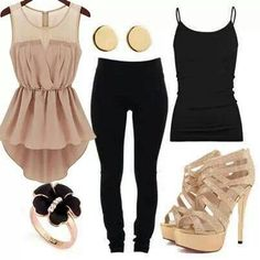 Cute hang out suit