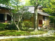 国宝茶室「如庵」京都建仁寺 Traditional Japanese House, Japanese Style, Japanese Tea Ceremony, National Treasure, Kyoto Japan, House Plans, Cottage, Japanese Gardens, Architecture
