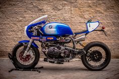 """Pepo Rosell of XTR Pepo has turned another stunner. This time it's a 1992 BMW R100R endurance racer. The bike is nicknamed """"Don Luis."""" Says Pepo: About the name of the bike, this is the [...]"""