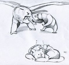 aninklingofinklings asked you: This is kind of random, but I was wondering how owl griffins and bears might get along. They'd have their differences, but they'd get over it.