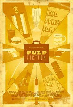 Awesome Pulp Fiction poster