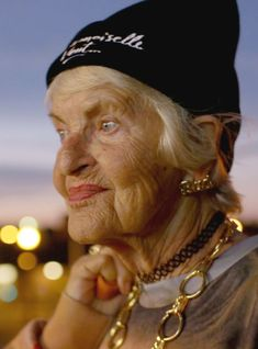 Meet Baddie Winkle, Who Fell In Love With Raver Clothes At Age 87 +#refinery29