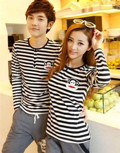Korean Fashion Hot Selling Couple Suit Two Pieces