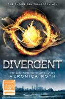 "Divergent, by Veronica Roth - ""The remnant population of post-apocalyptic Chicago intended to cure civilization's failures by structuring society into five ""factions,"" each dedicated to inculcating a specific virtue. When Tris, secretly a forbidden ""Divergent,"" has to choose her official faction in her 16th year, she rejects her selfless Abnegation upbringing for the Dauntless, admiring their reckless bravery. But the vicious initiation process reveals..."" - Kirkus Reviews"
